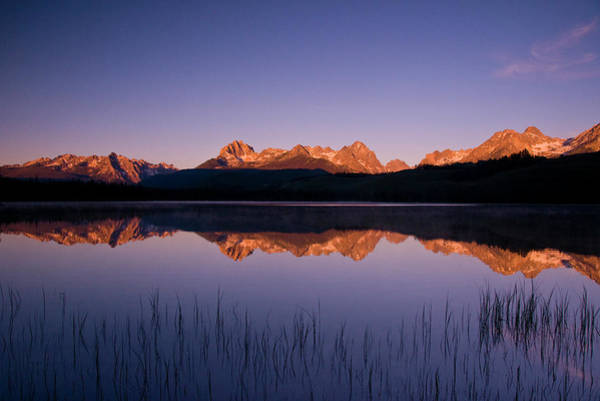 Little People Photograph - Idaho, Little Redfish Lake, Sawtooth by Steve Bly