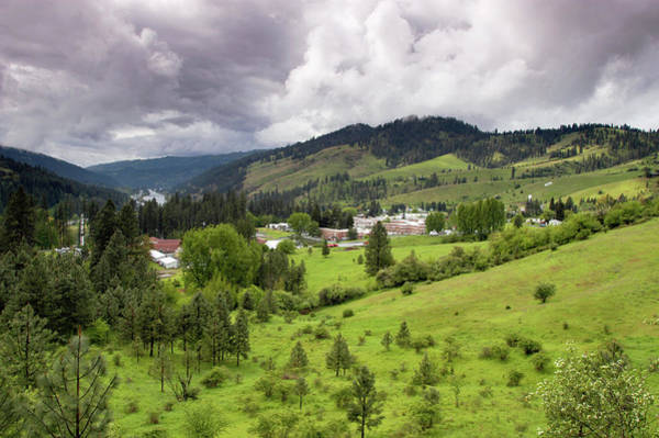 Clearwater Photograph - Idaho, Orofino, Like Many Small Towns by Chad Case