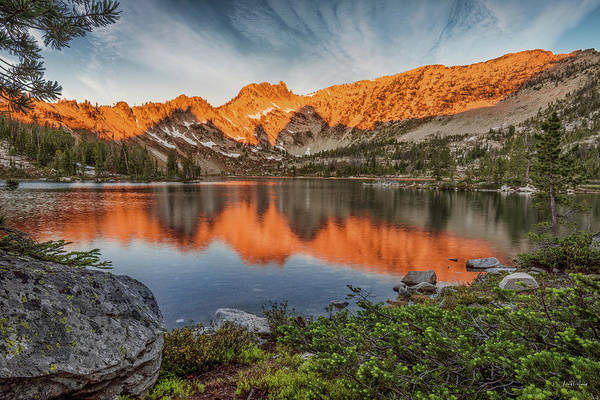 Altitude Photograph - Idaho Wilderness by Leland D Howard