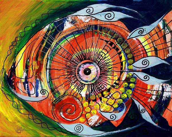 Painting - Idiosyncratic by J Vincent Scarpace