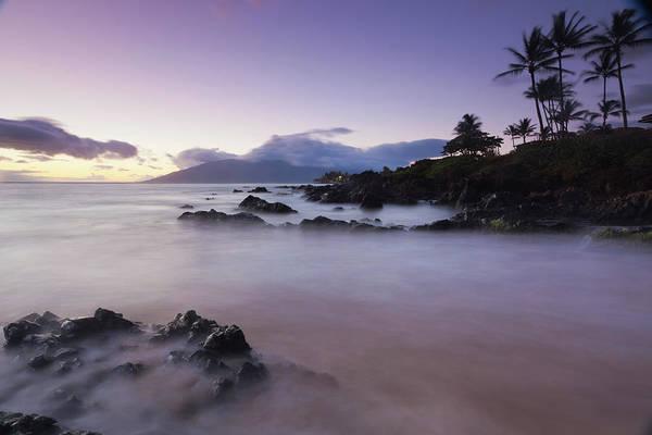 Maui Photograph - Idylic Maui Coastline, Twilight - by Wingmar