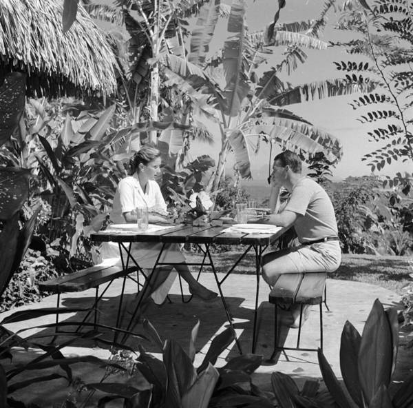 Setting Photograph - Idyllic Dining by Evans