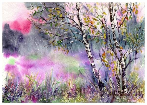 Tranquility Painting - Idyllic Meadow by Suzann Sines