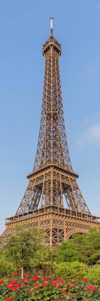 Wall Art - Photograph - Idyllic Paris View - Panorama by Melanie Viola