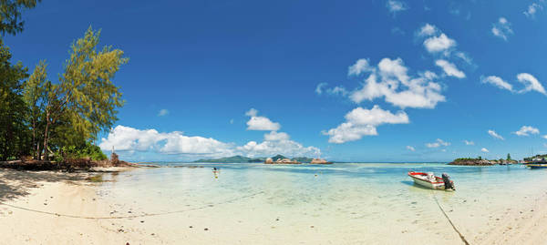 Outboard Photograph - Idyllic Tropical Island Beach Summer by Fotovoyager
