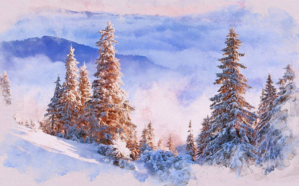 Painting - If Winter Comes - 21 by Andrea Mazzocchetti
