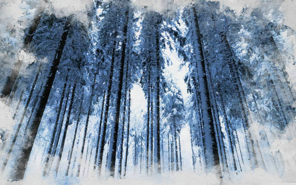 Painting - If Winter Comes - 22 by Andrea Mazzocchetti