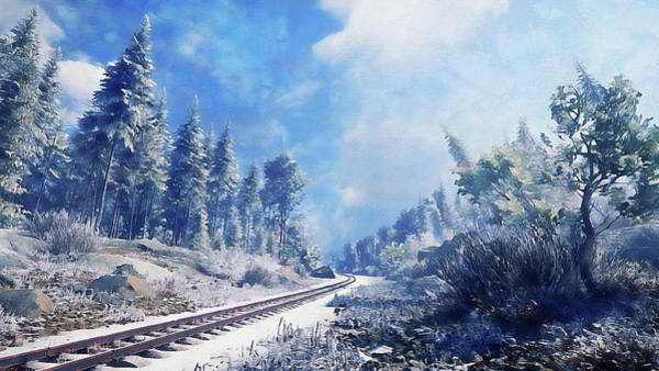 Painting - If Winter Comes - 24 by Andrea Mazzocchetti