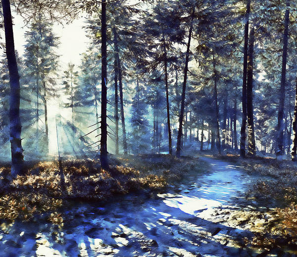 Painting - If Winter Comes - 25  by Andrea Mazzocchetti