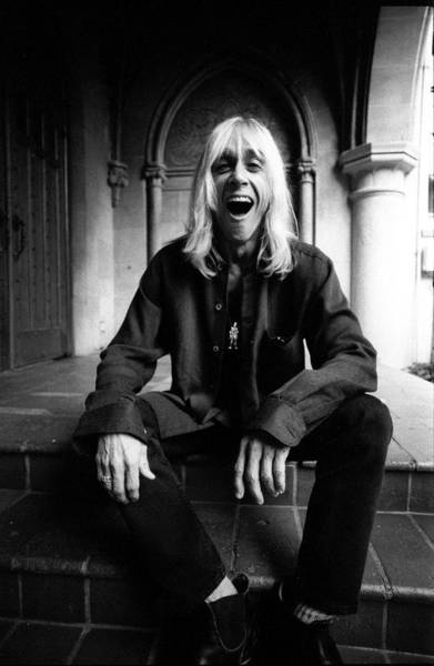 Photograph - Iggy Pop Chateau Marmont Los Angeles by Martyn Goodacre