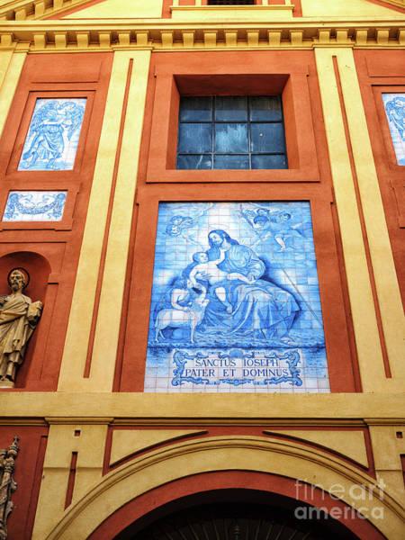 Photograph - Iglesia Del Senor San Jose In Seville by John Rizzuto