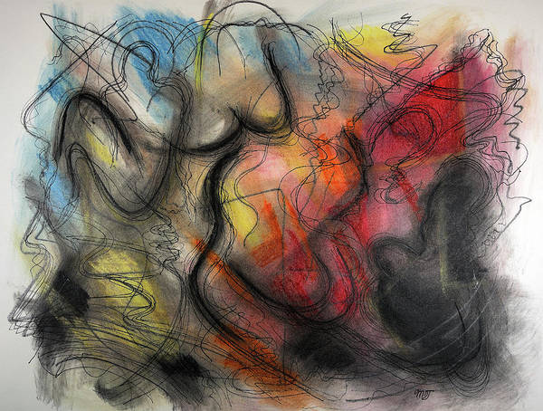 Pastel - Ignis Sacrificium by Mark Jordan