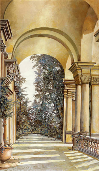 Wall Art - Painting - Il Bosco Dopo Le Arcate by Guido Borelli
