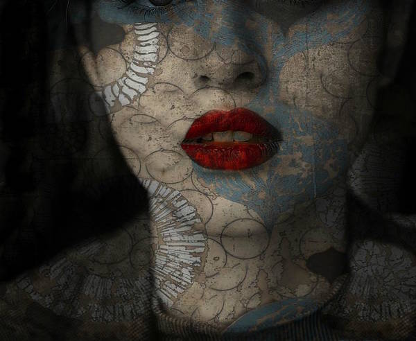 Girl Mixed Media - I'll Never Fall In Love Again  by Paul Lovering