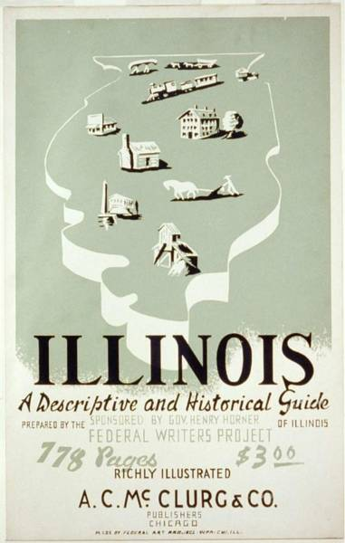 Wall Art - Painting - Illinois, A Descriptive And Historical Guide by Celestial Images