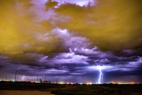 Photograph - Illuminate The Nebraska Night 007 by NebraskaSC