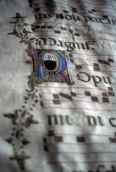 Photograph - Illuminated Manuscript by Steve Estvanik