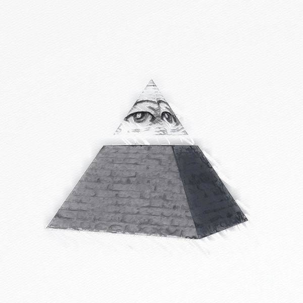 Wall Art - Painting - Illuminati by Raphael Terra