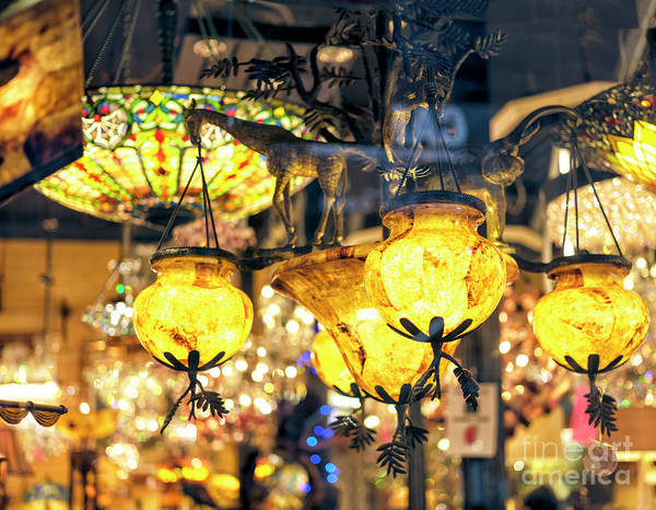 Photograph - Illumination In The French Quarter In New Orleans by John Rizzuto