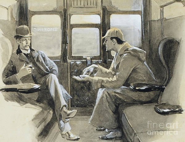 Wall Art - Painting - Illustration For The Sherlock Holmes Story The Adventure Of Silver Blaze by Sidney Paget