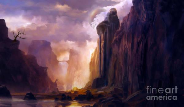 Wall Art - Digital Art - Illustration Of Digital Painting by Estevez