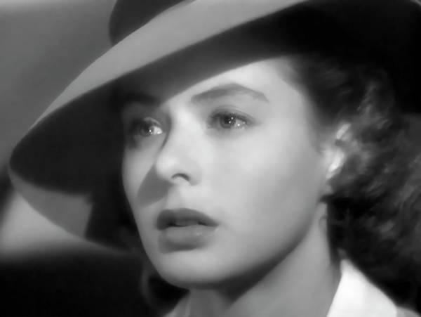 Bogart Digital Art - Ilsa Lund - Casablanca 1942 by Daniel Hagerman