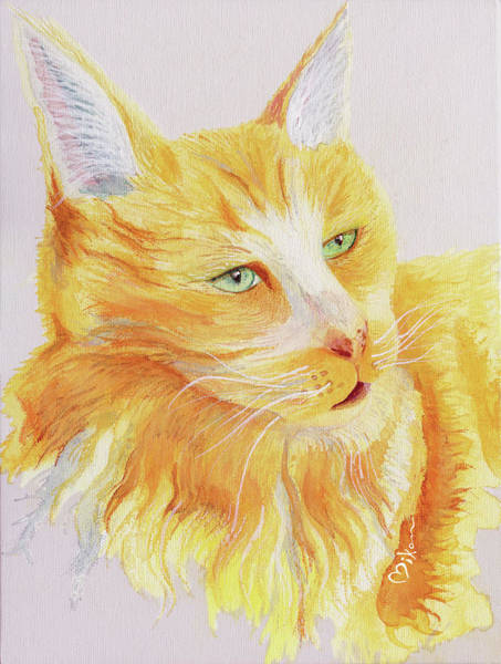 Wall Art - Painting - Im A Pretty Kitty by Miko Zen