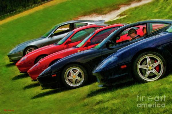 Photograph - I'm Staying In My Ferrari  by Blake Richards