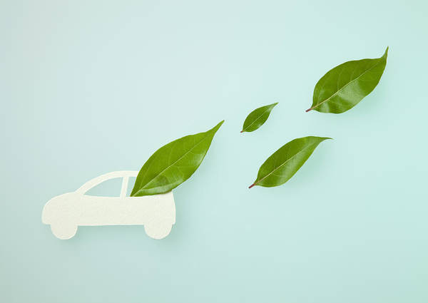 Environmental Issue Wall Art - Photograph - Image Of Eco Car by Imagenavi