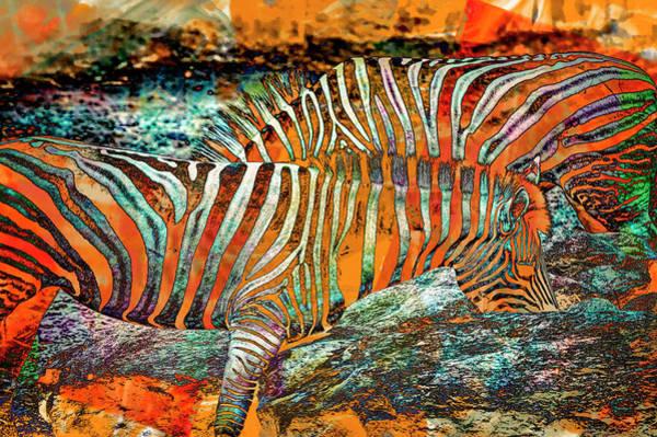 Wall Art - Digital Art - Imaginary Optical Illusion by Paul Coco