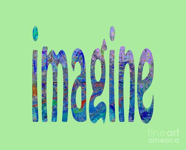 Painting - Imagine 1007 by Corinne Carroll