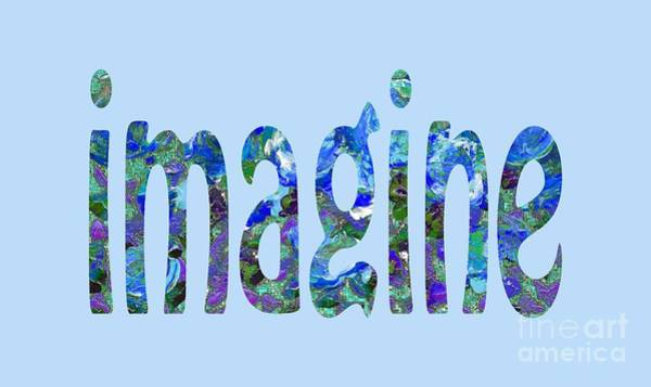 Painting - Imagine 1008 by Corinne Carroll