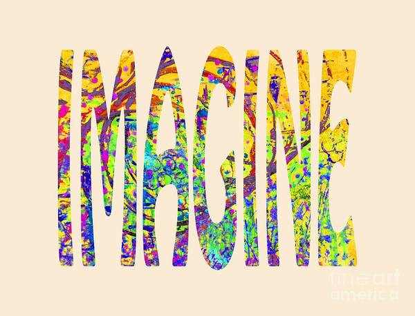 Painting - Imagine 1015 by Corinne Carroll