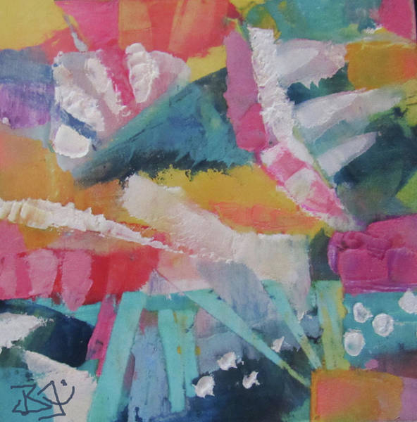 Painting - Imagine by Jean Batzell Fitzgerald