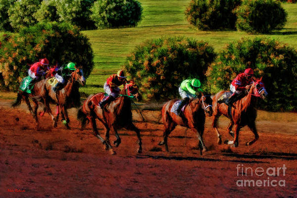 Photograph - Imminent Leads Race 9 July 5 2019 by Blake Richards