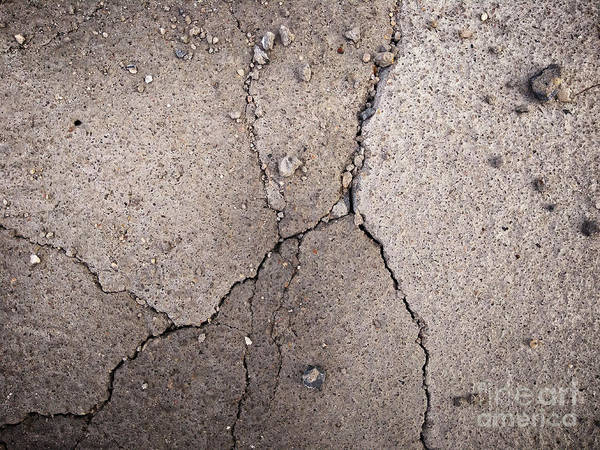 Photograph - Impact Crack by Robert Knight