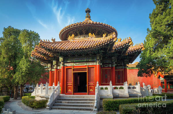 Forbidden City Photograph - Imperial Garden by Inge Johnsson