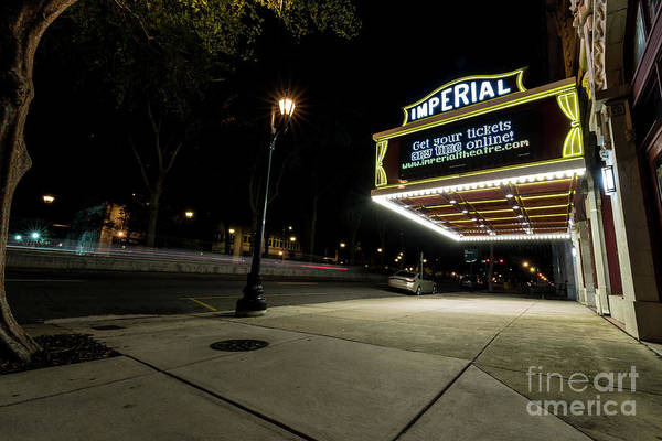 Photograph - Imperial Theatre Augusta Ga by Sanjeev Singhal
