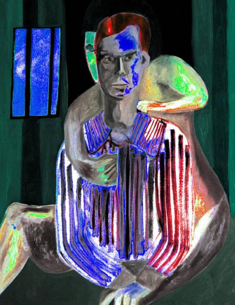 Digital Art - Impotent At Night by Artist Dot