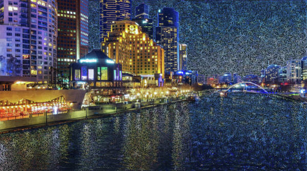 Digital Art - Impression Of Melbourne by Alex Mir