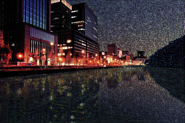 Digital Art - Impression Of Tokyo by Alex Mir