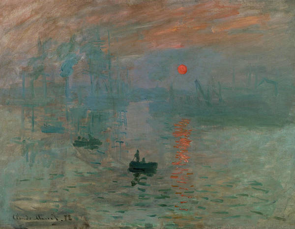 Wall Art - Painting - Impression, Sunrise, 1872 by Claude Monet