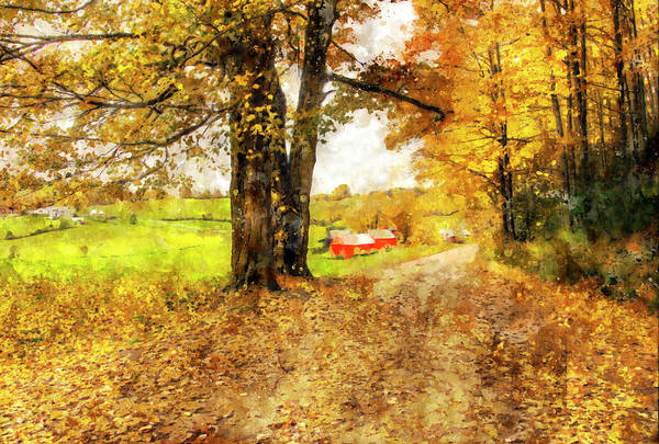 Photograph - Impressionist Painter Visits The Jenne Farm by Gordon Ripley