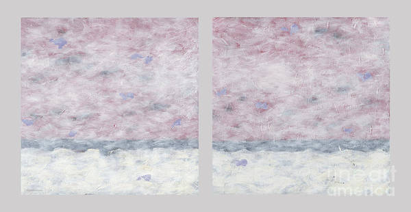 Painting - Impressionist Painting Diptych2 by Gordon Punt