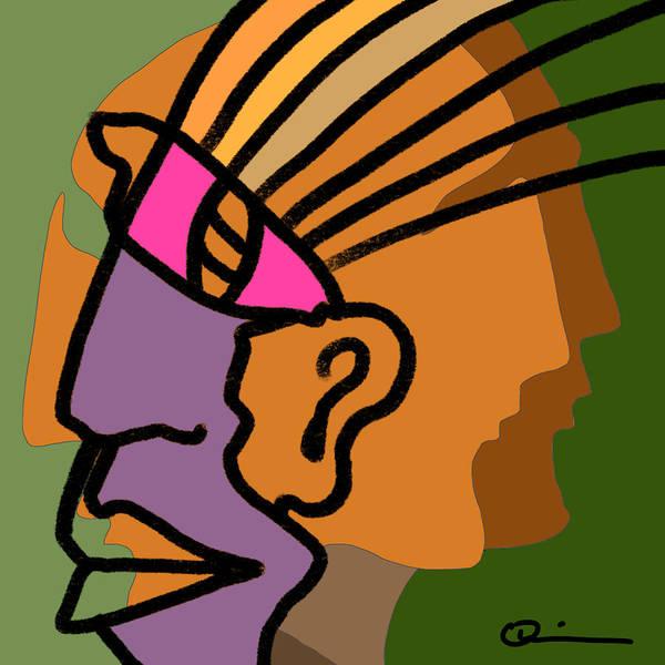 Digital Art - Imprint 2 by Jeff Quiros