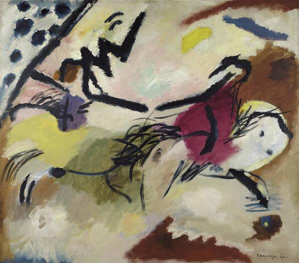 Wassily Kandinsky Painting - Improvisation 20, 1911 by Wassily Kandinsky