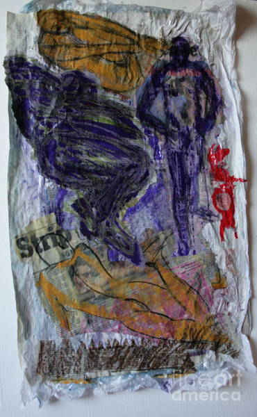 In A Vice Like Grip Of Hate Art Print