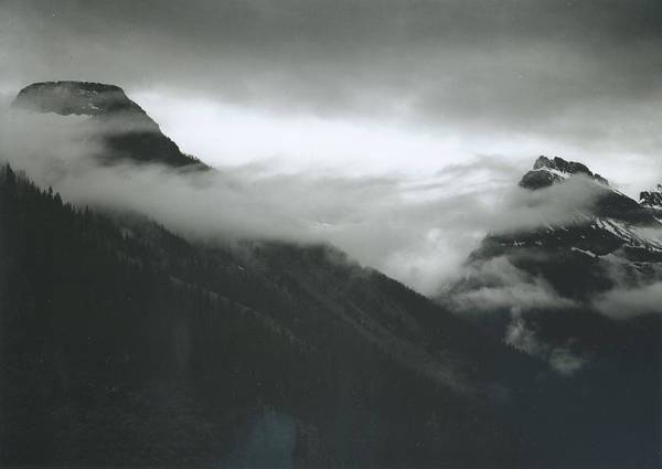 Photograph - In Glacier National Park by Archive Photos