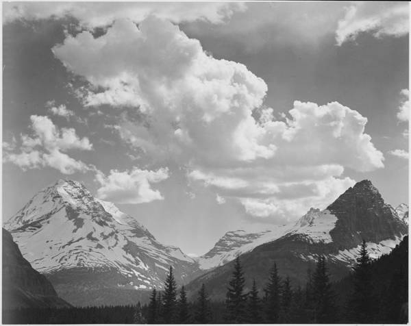 In Glacier National Park Art Print by Buyenlarge