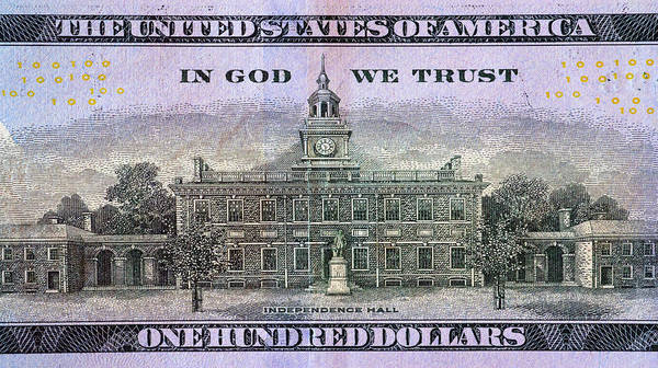 Photograph - In God We Trust by Paul W Faust - Impressions of Light